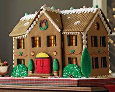 Giant New york city home design gingerbread custom house