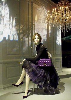 Dior window displays