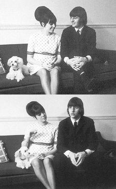 Maureen Starkey and Ringo Starr