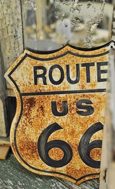 """Daily Man Up Photos) Ever been told to """"man up""""? Very few men ever """"man up"""" and it's about time we do. I'm not talking about some testosterone-fueled call to a. Old Route 66, Route 66 Road Trip, Historic Route 66, Travel Route, Rust Never Sleeps, Pompe A Essence, Not My Circus, Peeling Paint, Rusty Metal"""