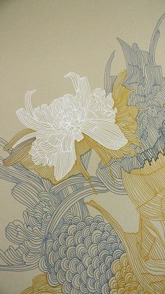 Ideas For House Illustration Art Artworks Art Inspo, Kunst Inspo, Inspiration Art, Art And Illustration, Flower Illustrations, Art Asiatique, Art Japonais, Art Design, Floral Design