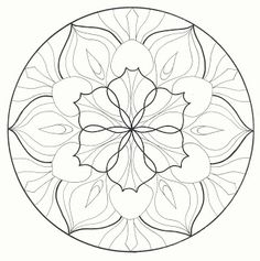 Mandala designs suitable for quilting (circular) . Mandalas Painting, Mandalas Drawing, Mandala Coloring Pages, Dot Painting, Colouring Pages, Adult Coloring Pages, Coloring Books, Zentangles, Mandala Pattern