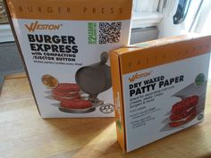 The Weston Burger Press is an invaluable kitchen tool for making beef, turkey, chicken, salmon, and veggie burgers. Click the pic to check out the full review at The Burger Nerd website. #review #productreview #kitchengadget #homecooking Burger Press, Turkey Chicken, Food Articles, Veggie Burgers, Wax Paper, Kitchen Gadgets, Nom Nom, Salmon, Nerd