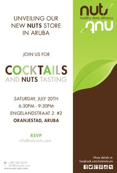 Unveiling our new NUTS store in Aruba