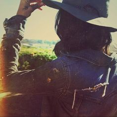 WEBSTA @ electricwest - Tumblr Tuesday... We can't resist a good hat and denim…