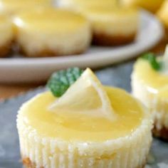 Italian Sausage Chili - Great Grub, Delicious Treats Lemon Cheesecake Recipes, Lemon Dessert Recipes, Cheesecake Desserts, Cookie Recipes, Mini Desserts, Easter Desserts, Lemon Recipes, Yummy Treats, Delicious Desserts