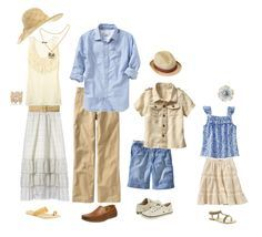 what to wear summer family photo shoot - Google Search