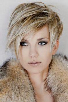 Coupe de cheveux courte 2-15 pour femme tendance (8)