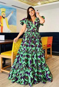 Long Ankara Dresses, Ankara Maxi Dress, Ankara Dress Styles, Latest African Fashion Dresses, Batik Dress, African Dresses For Women, Best Fashion Designers, Lace Chiffon, Classy Dress