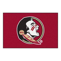 Florida State Seminoles NCAA Starter Floor Mat (20x30) Seminole Logo