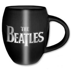 The Beatles Boxed Oval Mug: Drop T Logo & Apple Wholesale Ref:BEATMUG37
