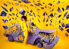 And no, they're not photoshopped. Sandy Skoglund (born September 11, 1946) is an American photographer and installation artist. Skoglund creates surrealist images by building elaborate sets or tableaux, furnishing them with carefully selected small children and other objects, a process of which takes her months to complete. Finally, she photographs the set, complete with actors. The works are characterized by an overwhelming amount of one object and either bright, contrasting colors or a…