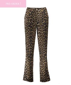 Our Leopard Pants is a must have for every fashionista. Leopard print is easy to combine and always fashionable. You will look outstanding with this pants!