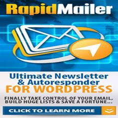 RapidMailer is the ultimate self-managed Autoresponder platform to maximize your email marketing. Many smart marketers realize that Rapid Mailer is a powerful, flexible and no-brainer alternative to expensive, restrictive email services that charge high monthly fees .