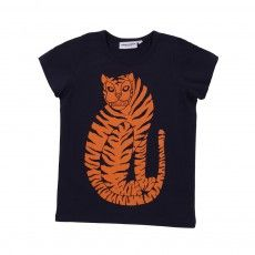 Tiger T-shirt  Navy blue