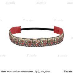 Three Wise Crackers - #Nutcracker #Christmas Soldiers Athletic Headbands by #i_love_xmas #Zazzle #Gravityx9 -