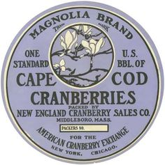 Middleborough Cape Cod Cranberries