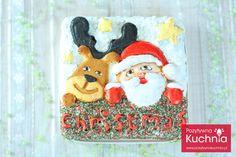 Biały lukier królewski Crochet Hats, Christmas Ornaments, Holiday Decor, Baking, Knitting Hats, Christmas Jewelry, Bakken, Christmas Decorations, Backen