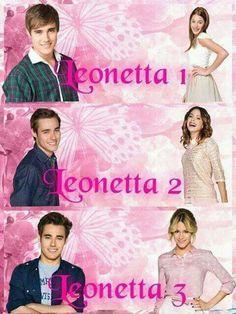 All the seasons of Violetta