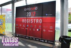 Mampara Expoauto 2012