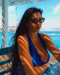 شاهد أحدث جلسة تصوير لـ لاميتا فرنجيه على البحر Sunglasses Women Women Fashion