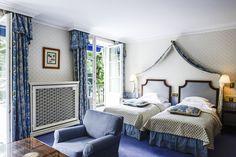 #Hotel #BayerischerHof #Munich #guestroom #style Laura Ashley