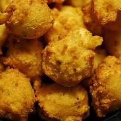 Walt's Favorite Hush Puppies Recipe served at Trail's End at Fort Wilderness Resort in Disney World