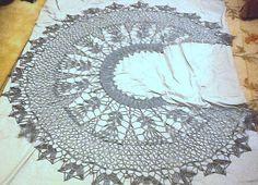 Ravelry: ctarskis Gray Thistles shawl