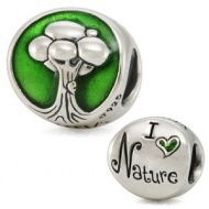 I Love Nature - Green Enamel