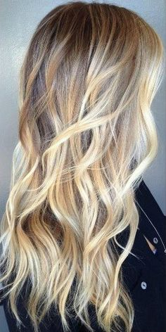 Different Shades Of Blonde Hair Pinterest