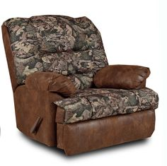 Duck Commander RealTree Camo Fabric Recliner by Chelsea Home 20R26DC-M4T | Recliners & Rockers