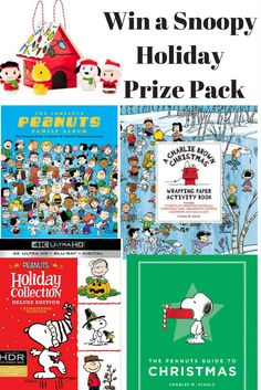 #Giveaway: Win a Peanuts Snoopy Holiday Prize Pack (Ends 12/15) #myhallmark