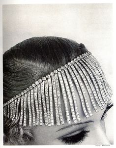 Chanel Fringed Tiara from The Shooting Stars Collection, Dated 1932-1933