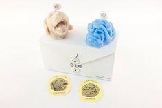 雙色 eye puppy 幼犬造型香氛蠟燭禮盒 / eye puppy candle set - eye candle studio | Pinkoi Candle Set, Stud Earrings, Puppies, Eyes, Studio, Jewelry, Cubs, Jewlery, Bijoux