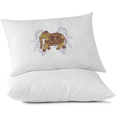 Lucky Tibetan Elephant Custom Pillowcase, Relaxation Pillow, Yoga, Om,... ($15) via Polyvore featuring home, bed & bath, bedding, bed sheets, elephant pillow cases and elephant bedding