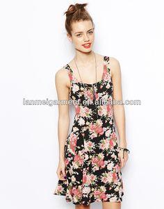 2014 vestido moda design mais recente novo vestido estampado-imagem-Vestido de moça-ID do produto:1679456235-portuguese.alibaba.com