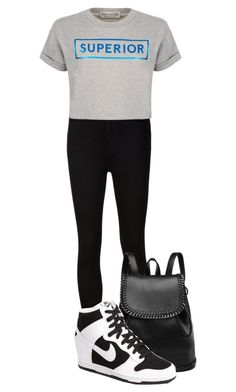 """""""Untitled #1185"""" by andreastoessel ❤ liked on Polyvore featuring мода, AG Adriano Goldschmied, NIKE и Être Cécile"""