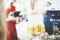 Flower Crown Bride, Most Beautiful, September, Joy, Wedding Dresses, Creative, Flowers, Blue, Photography