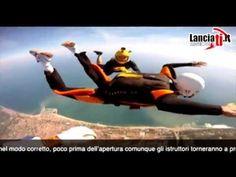 Diventa un paracadutista in solo sette lanci con il corso di paracadutismo A.F.F. di A.S.D. Lanciati.it Soloing, Skydiving, Tandem, Hobby, Sports, Hs Sports, Sport, Tandem Bikes