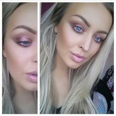 Soft pinks and contouring for the perfect Spring Look! Make-up by Nicole Cardiff