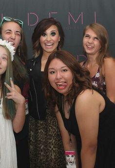 Demi Lovato Baltimore meet and greet - Demi Lovato Hair, Christina Perri, Baltimore, Bae, Hairstyles, Queen, Celebrities, Music, Inspiration