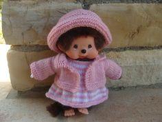 Habits Kiki 20 cm, ensemble robe, veste et chapeau. : Jeux, jouets par aux-fils-du-bocage Crochet Hats, Teddy Bear, Kawaii, Etsy, Dolls, Mini, Creative, Jacket Dress, Hat