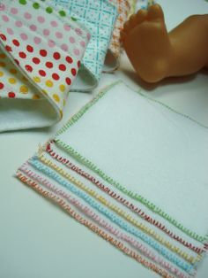 Diaper wipes for baby doll's diaper bag.