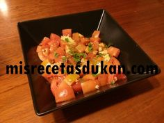 ensalada tomate ajo y comino