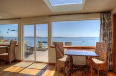 Beach House Game Table and View