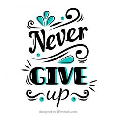 DMC Never Give Up Quotes Cross Stitch Embroidery Pattern Kits Counted 14 Count Calligraphy Quotes Doodles, Brush Lettering Quotes, Doodle Quotes, Hand Lettering Alphabet, Typography Quotes, Wallpaper Travel, Citations Film, Bullet Journal Quotes, Drawing Quotes