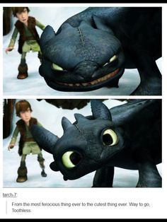 Toothless. Happy appreciate a dragon day!