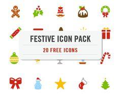 Freebie: Festive Christmas Icon Pack (20 .EPS Icons) – Smashing Magazine