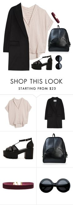"""""""Untitled #6530"""" by heynathalie ❤ liked on Polyvore featuring MASSCOB, MaxMara and Vanessa Mooney"""