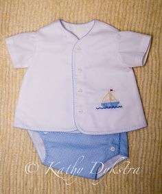 Prince and Princess Diaper Set Pattern sz. Baby Boy Dress, Baby Boy Outfits, Kids Outfits, Baby Clothes Patterns, Baby Kids Clothes, Heirloom Sewing, Baby Sewing, Prince, Smocking